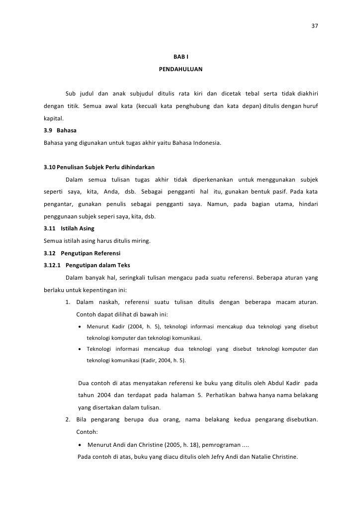 Contoh Makalah Skripsi Akuntansi