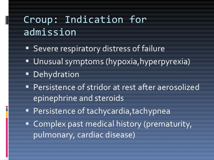 croup treatment steroids