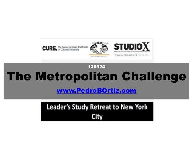 130924 The Metropolitan Challenge www.PedroBOrtiz.com