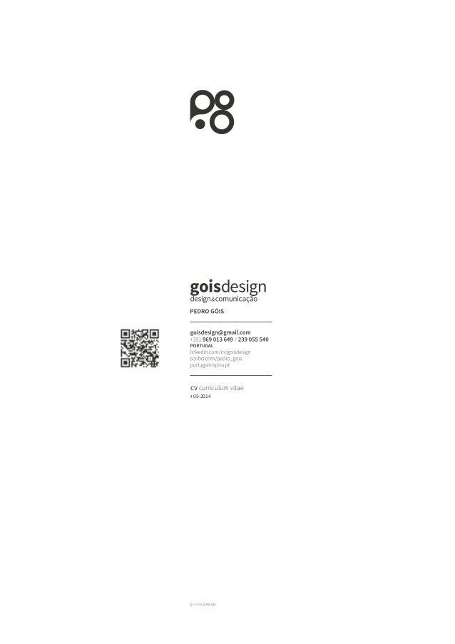 goisdesign052014 cv curriculum vitae > 05-2014
