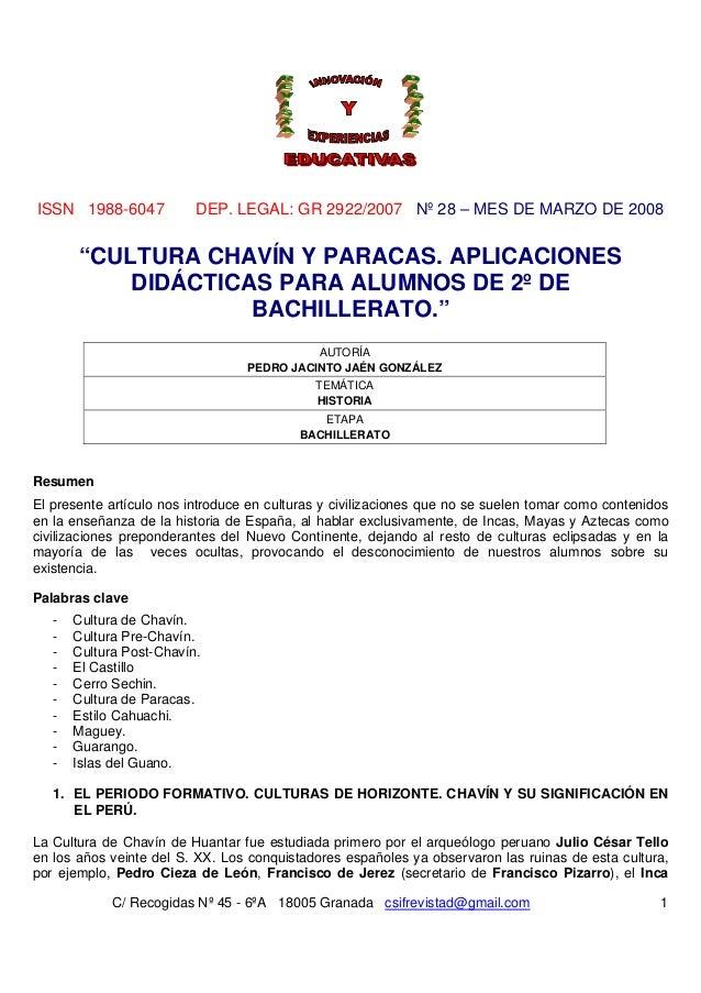 ISSN 1988-6047 DEP. LEGAL: GR 2922/2007 Nº 28 – MES DE MARZO DE 2008C/ Recogidas Nº 45 - 6ºA 18005 Granada csifrevistad@gm...