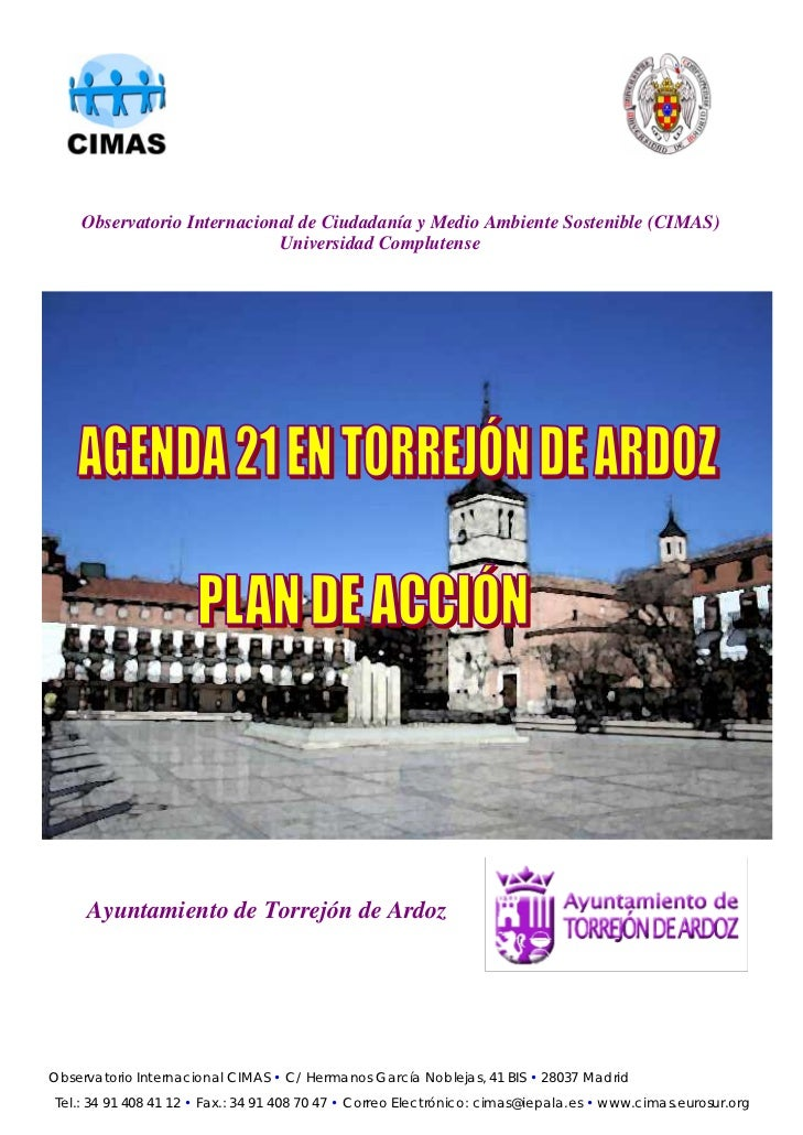 Observatorio Internacional de Ciudadanía y Medio Ambiente Sostenible (CIMAS)                            Universidad Complu...