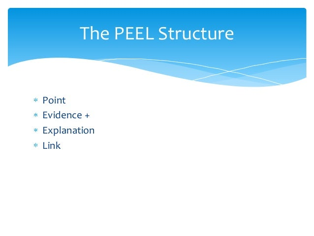 Peel structure for literature essays - Prieel structuur ...