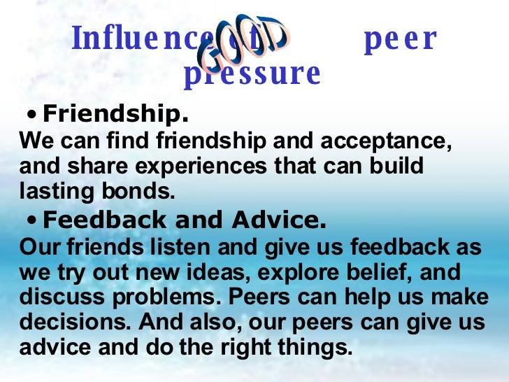 Essays About Peer Pressure