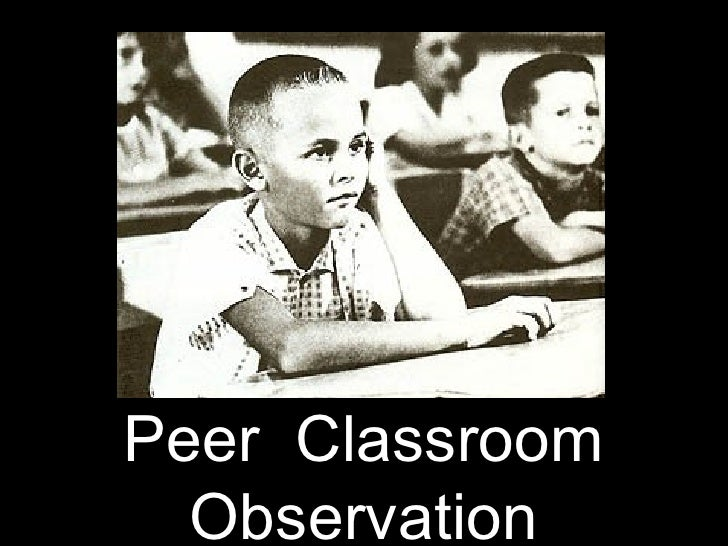 Peer Observation at FHC