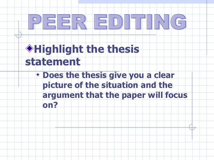 Peer editing research 2011