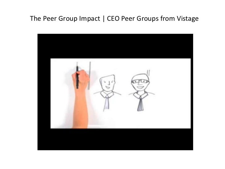 The Peer Group Impact | CEO Peer Groups from Vistage