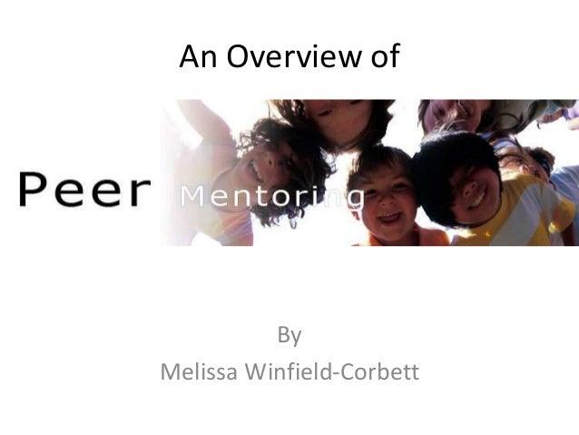 An Overview of By Melissa Winfield-Corbett