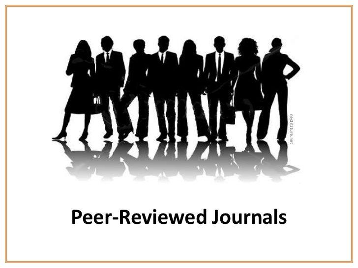 nextnature.netPeer-Reviewed Journals