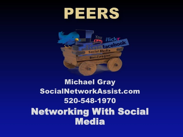 Peers Using Social Media to Network and Find Jobs