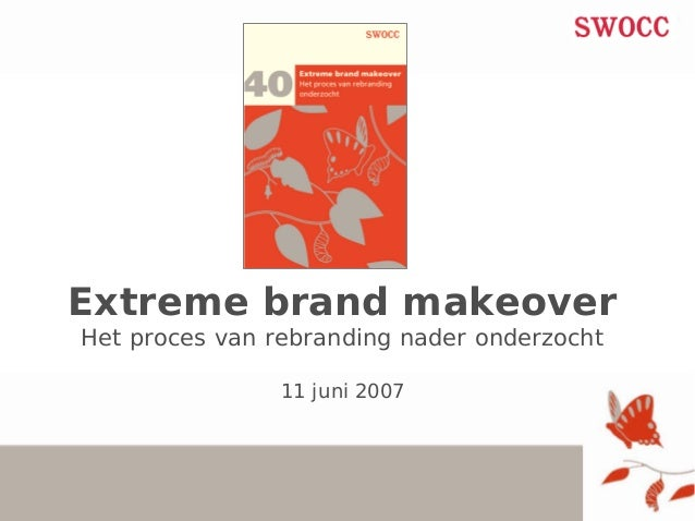 Renée Peeters: Extreme brand makeover