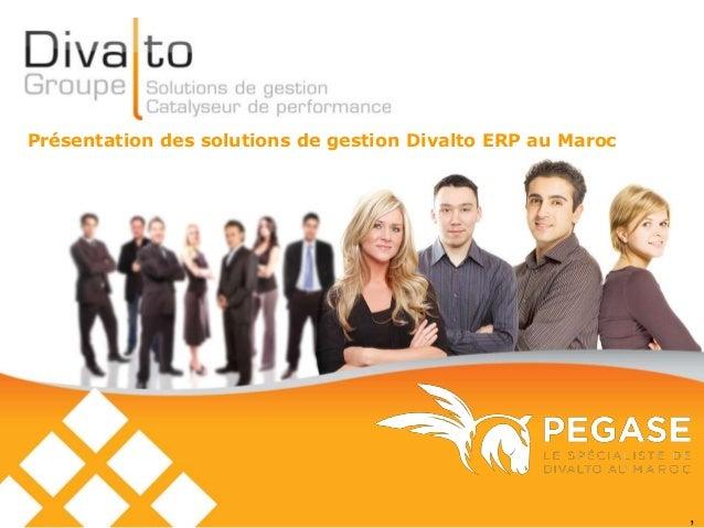 ,  Présentation des solutions de gestion Divalto ERP au Maroc