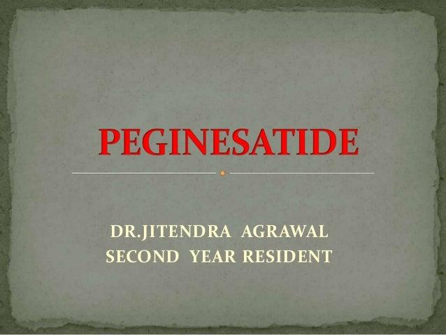 DR.JITENDRA AGRAWALSECOND YEAR RESIDENT