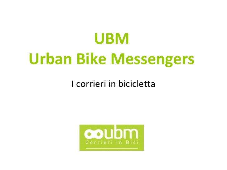 Urban Bike Messengers - Roberto Peia