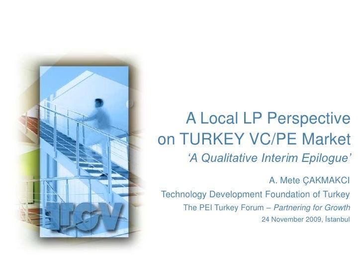 Pei Turkey Forum Cakmakci