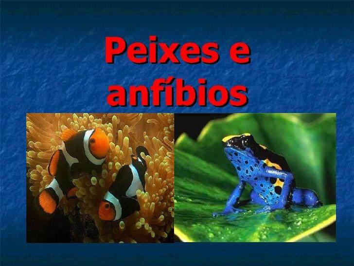 Peixes e anfíbios
