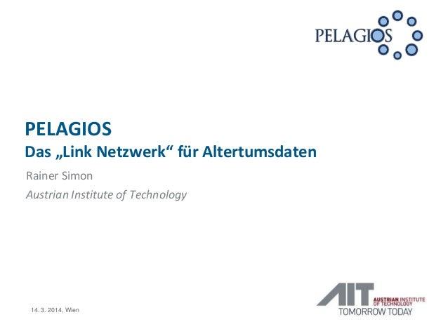 Pelagios - Das 'Link Netzwerk' für Altertumsdaten