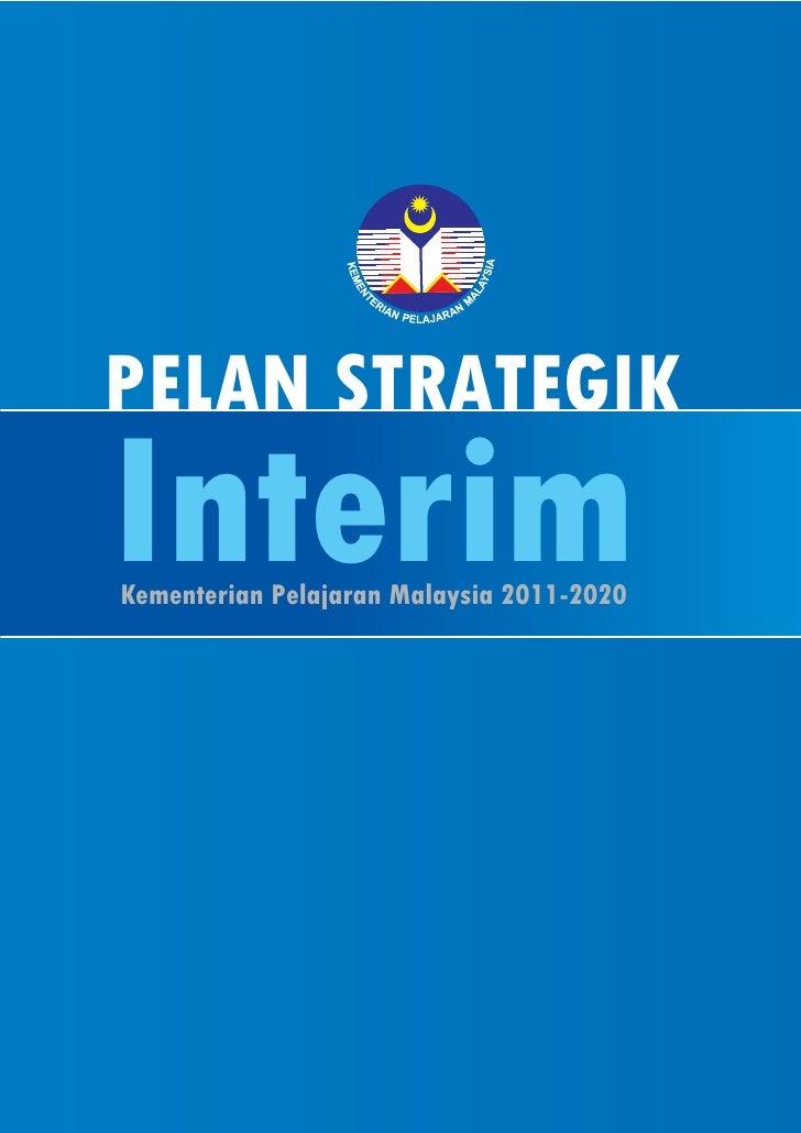 Pelan Strategik Interim KPM 2011-2020