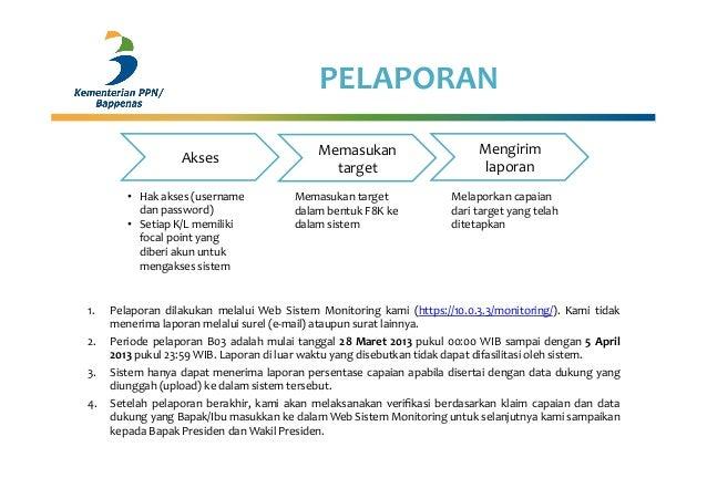 PELAPORAN 1. Pelaporan  dilakukan  melalui  Web  Sistem  Monitoring  kami  (https://10.0.3.3/monitoring/)...