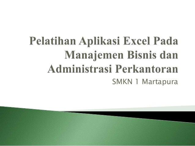 SMKN 1 Martapura
