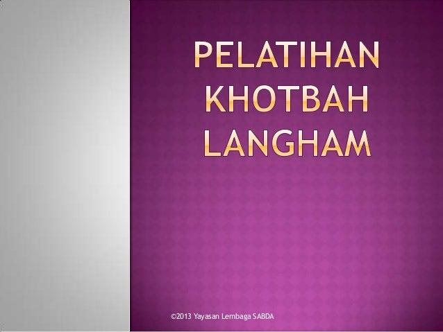Mempersiapkan Khotbah dengan Metode Langham