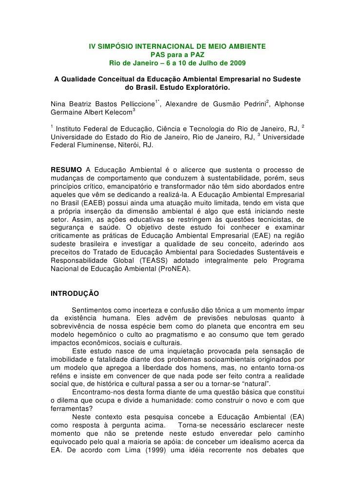 Pelliccione, pedrini e kelecon 2009  iv simp intma 09