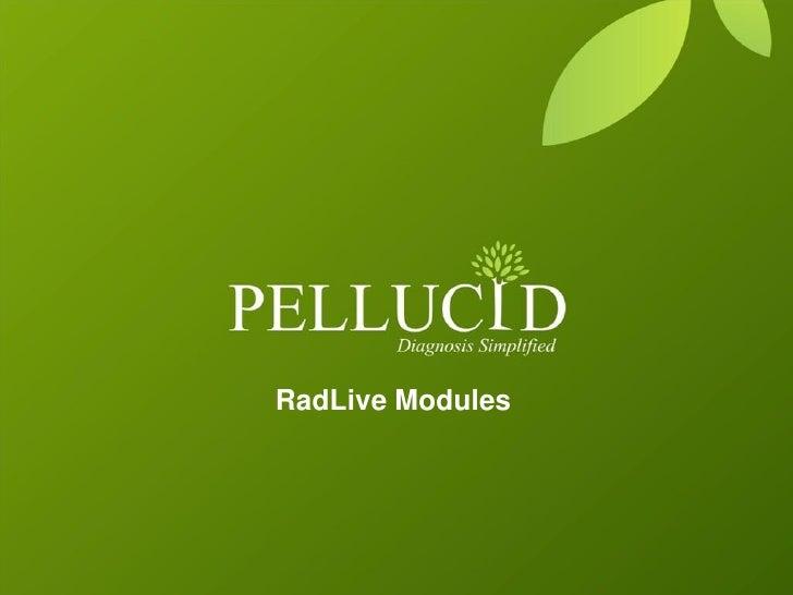 RadLive Modules