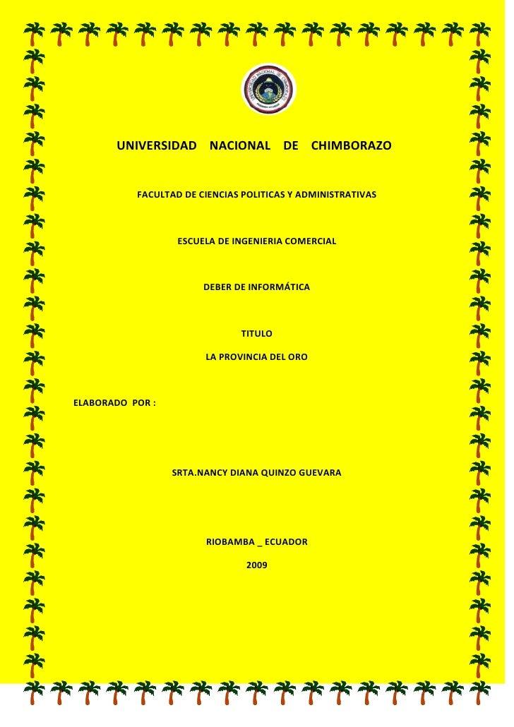 246316524130                                                <br />          UNIVERSIDAD    NACIONAL    DE    CHIMBORAZO<br...