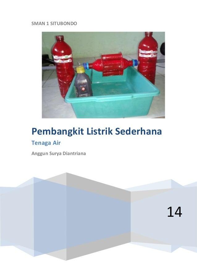 Model Pembangkit Listrik Tenaga Air Sederhana - Penghemat BBM Paling ...