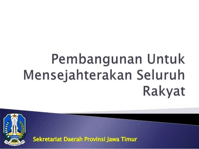 Sekretariat Daerah Provinsi Jawa Timur