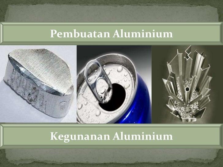 Hasil gambar untuk manfaat aluminium