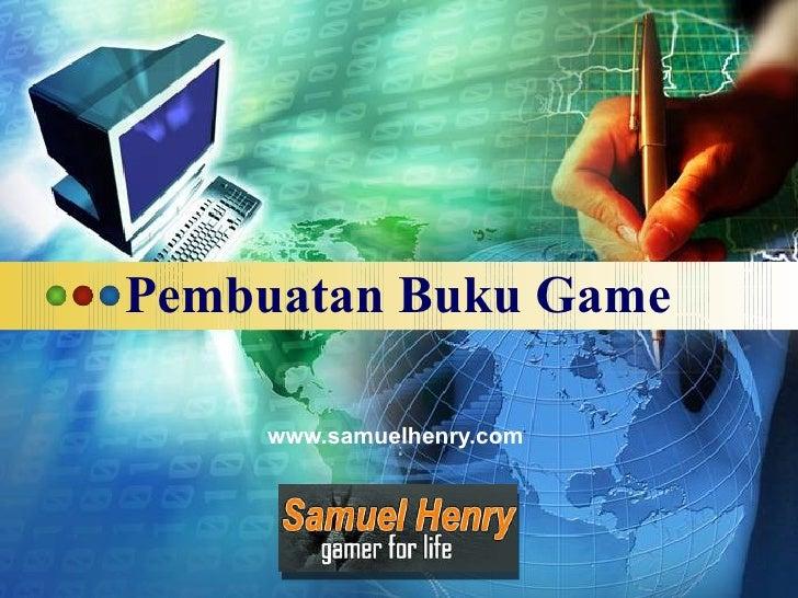 Pembuatan Buku Game www.samuelhenry.com