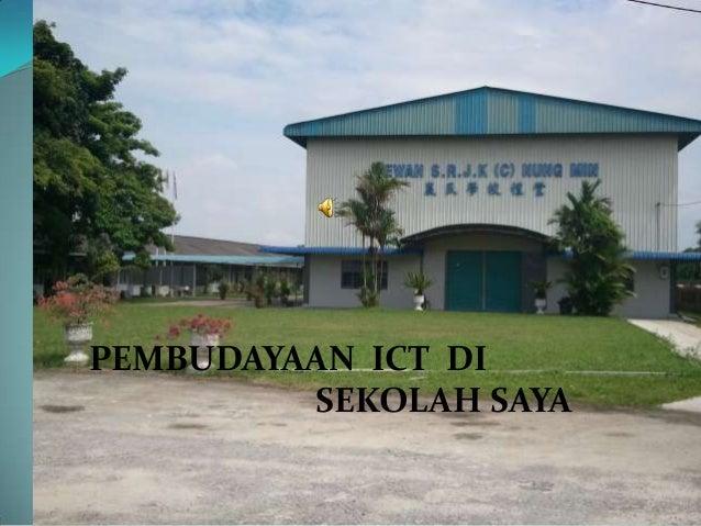 Pembudayaan ICT di sekolah