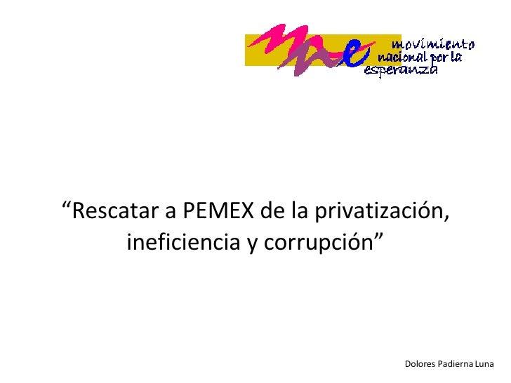 Pemex Dolores
