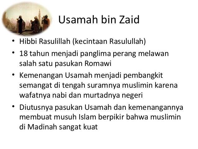 Usamah Bin Zaid Panglima Usamah Bin Zaid • Hibbi