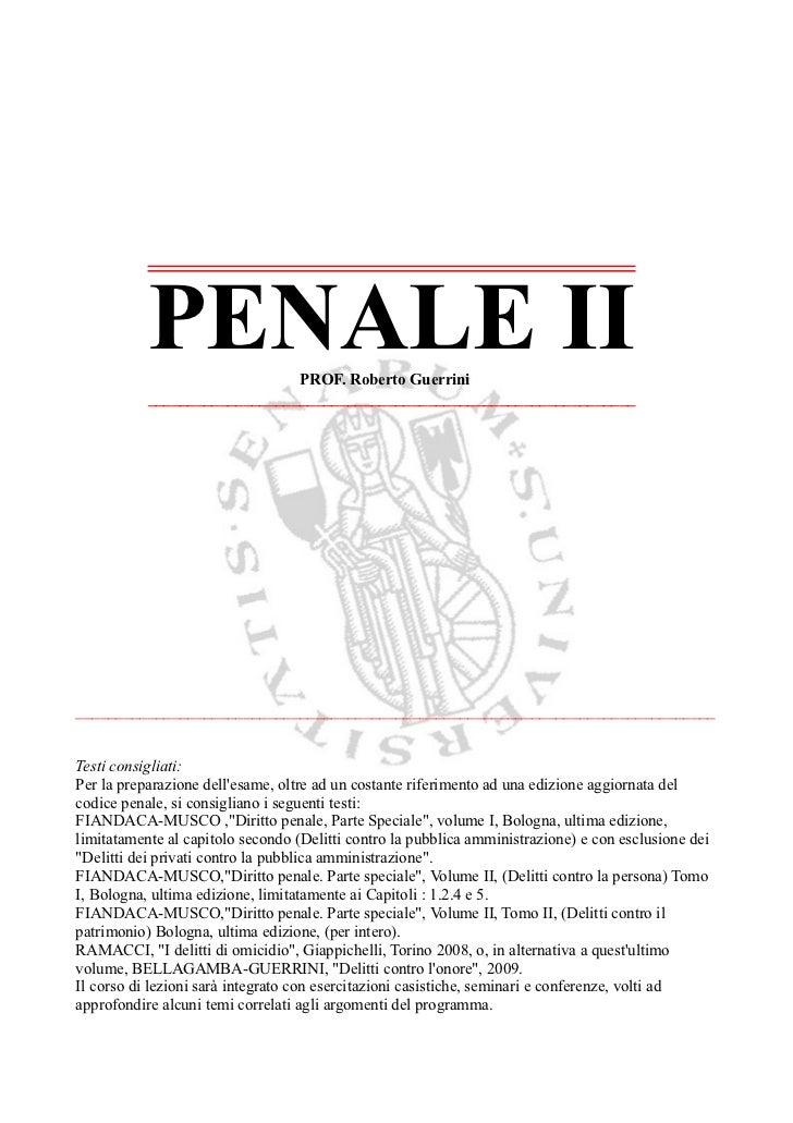 Penale II