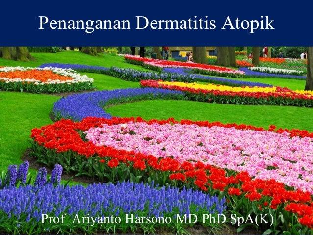 Penanganan Dermatitis Atopik Prof Ariyanto Harsono MD PhD SpA(K)
