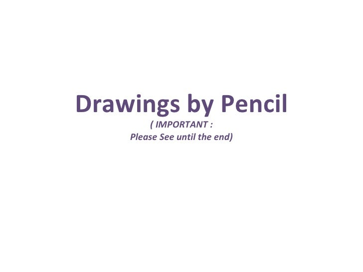 Pencil drawings.pps