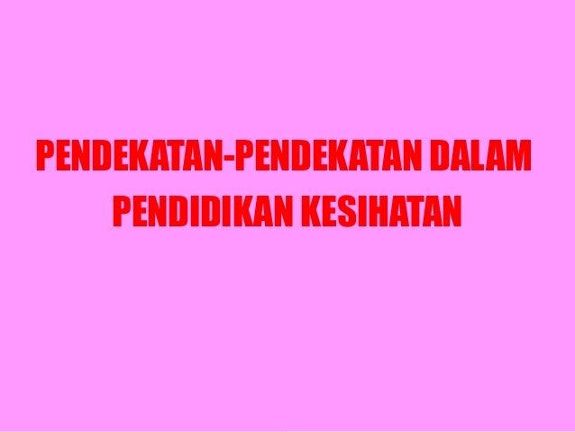 Pendekatan pk2