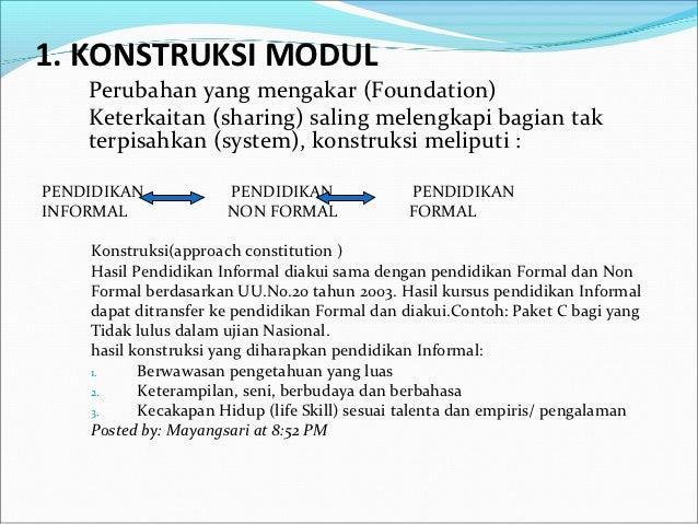 Contoh Modul Bahan Ajar Bahasa Inggris 8 Pengembangan Bahan Ajar Contoh Proposal Pkt C