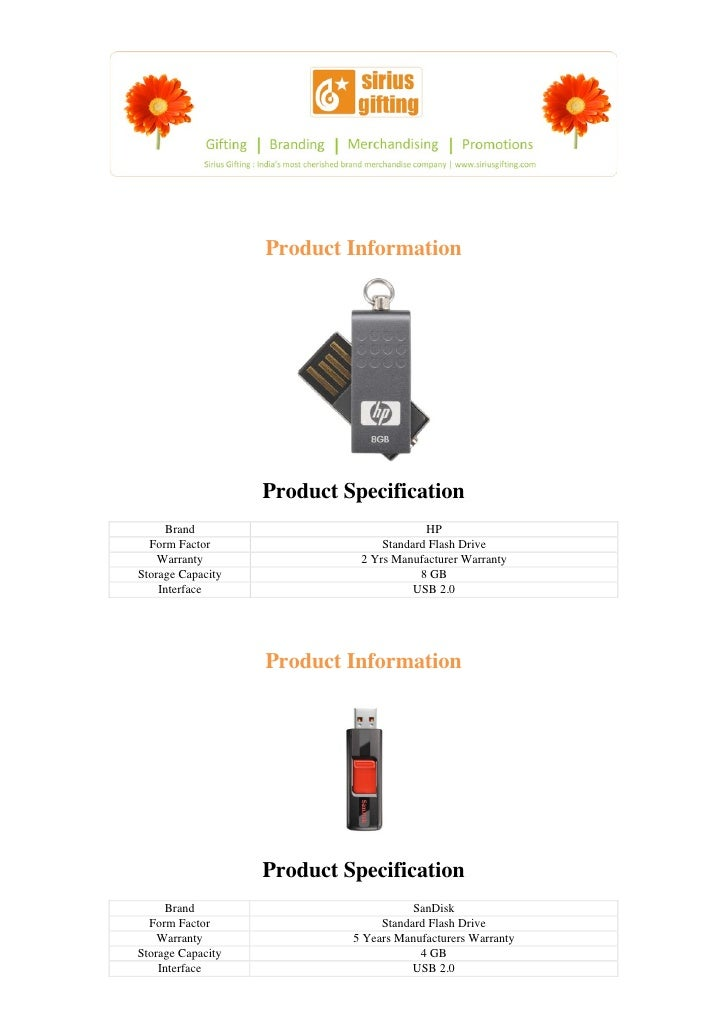 Product Information                   Product Specification     Brand                               HP  Form Factor       ...