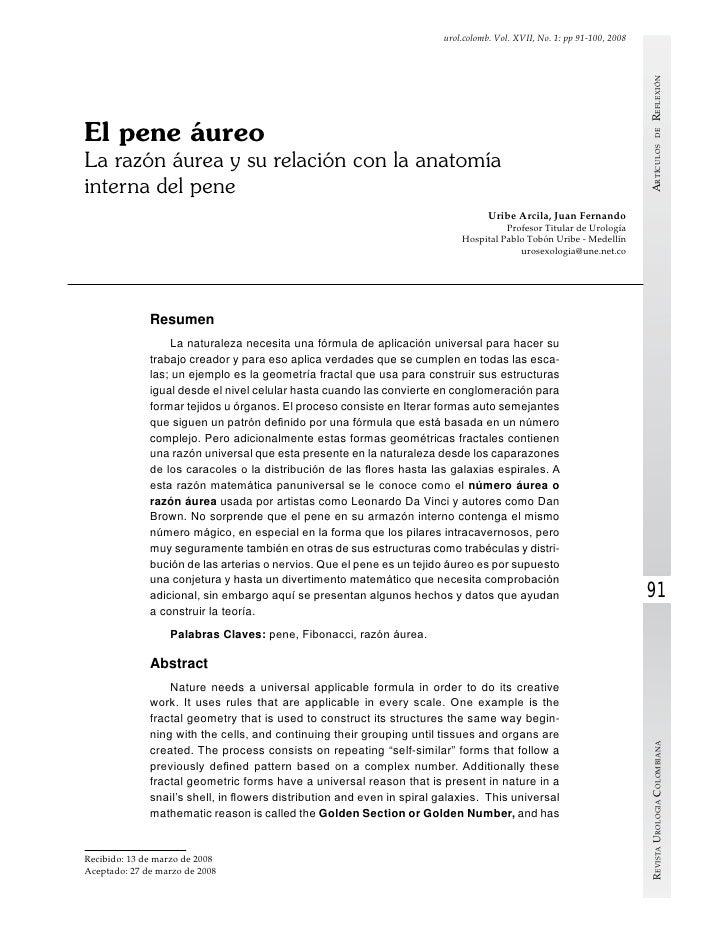 urol.colomb. Vol. XVII, No. 1: pp 91-100, 2008                                                                            ...