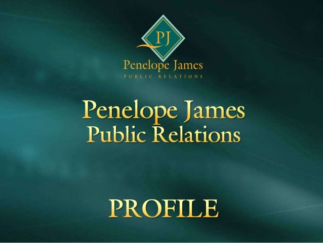 Penelope james PR  - Profile