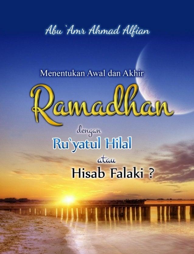 Penentuan awal ramadhan dgn ruyah