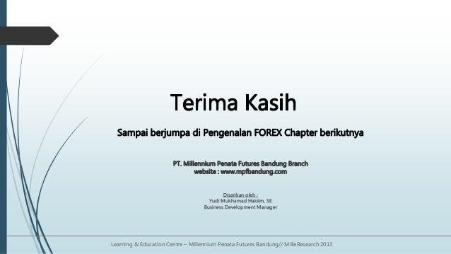 Pt millennium penata futures forex