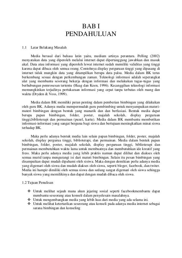 BAB I                              PENDAHULUAN1.1     Latar Belakang Masalah      Media berasal dari bahasa latin yaitu, m...