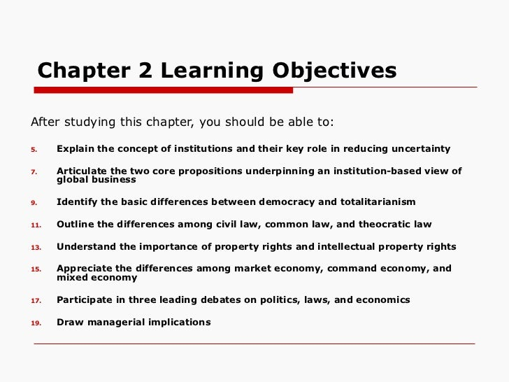 Chapter 2 Learning Objectives <ul><li>After studying this chapter, you should be able to: </li></ul><ul><li>Explain the co...