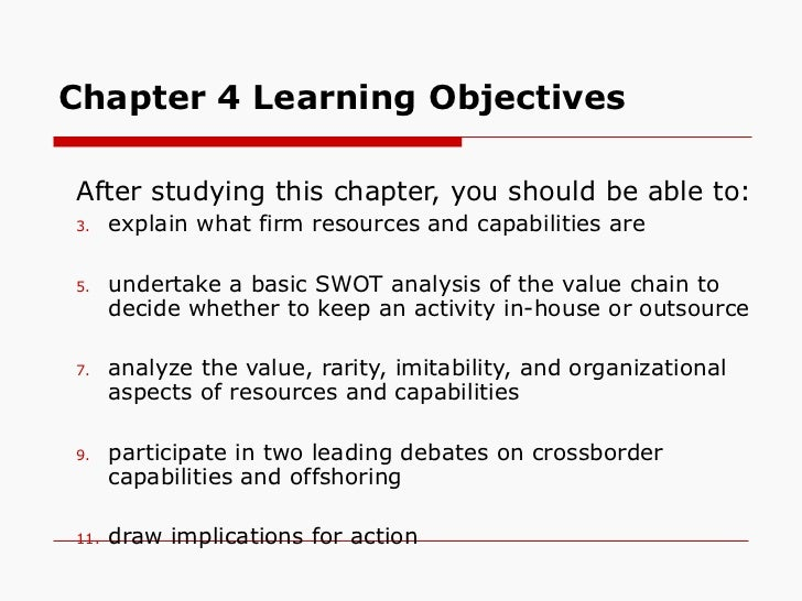 Chapter 4 Learning Objectives <ul><ul><li>After studying this chapter, you should be able to: </li></ul></ul><ul><ul><li>e...