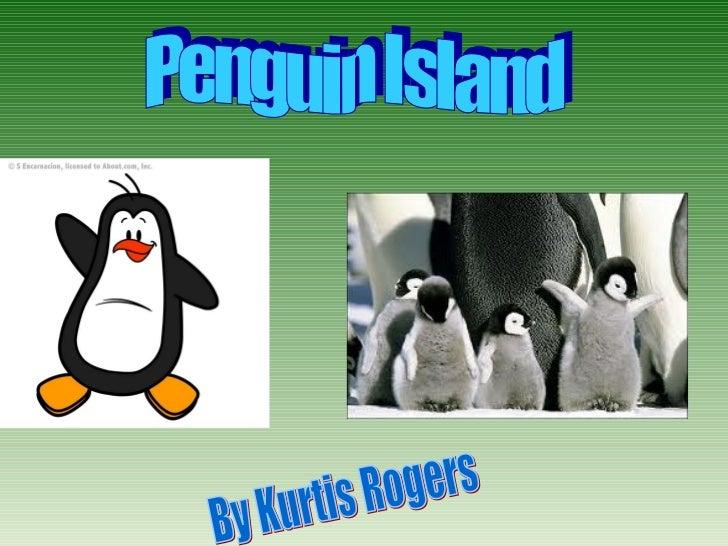 Penguin island brochure