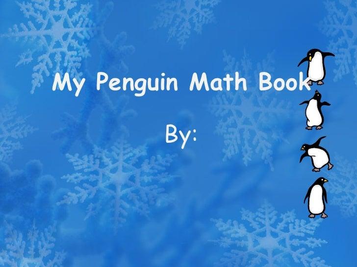 Penguin math kindergarten